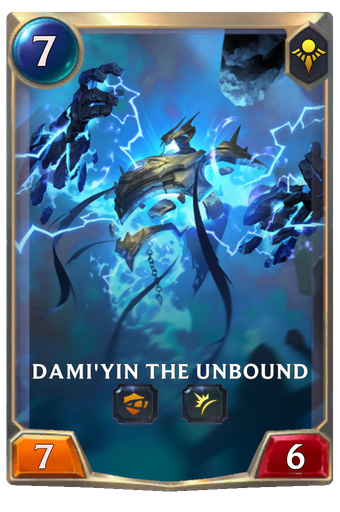 Dami'yin the Unbound Card Image