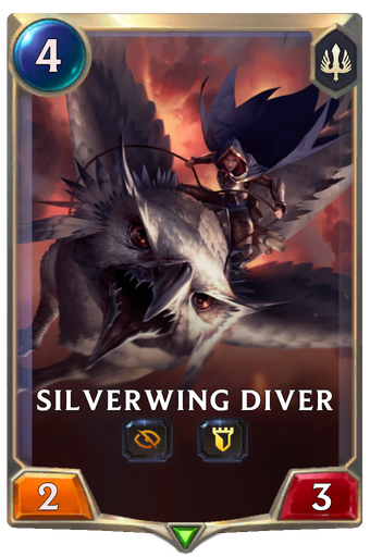Silverwing Diver Card Image