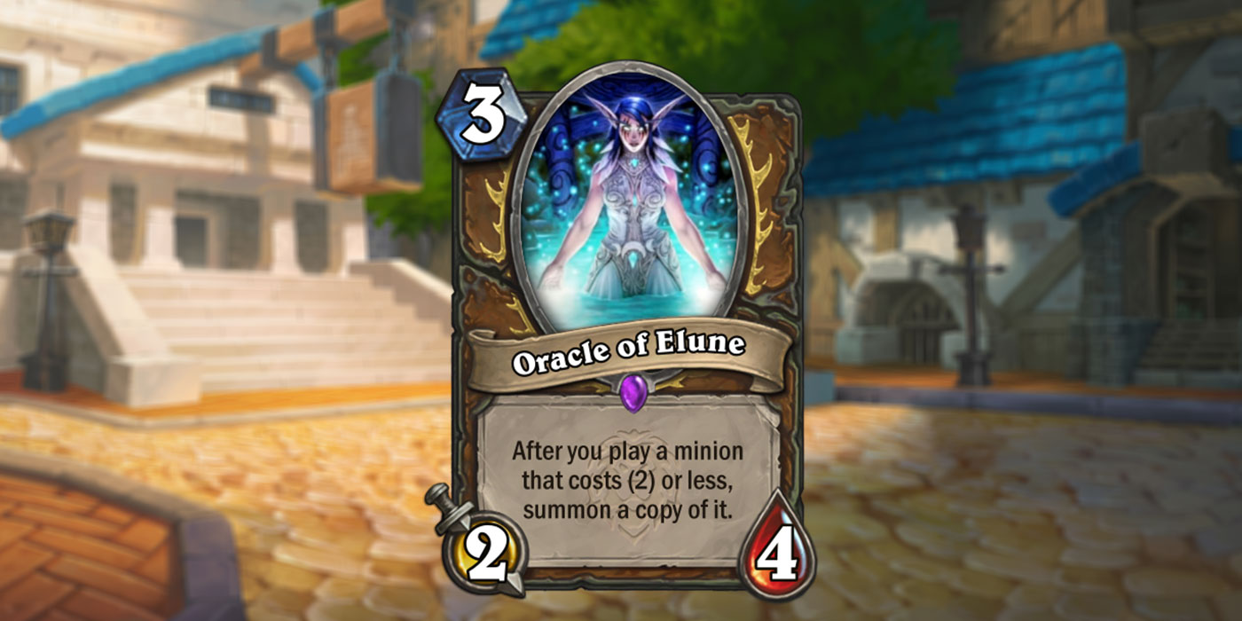 New Druid Card Revealed for United in Stormwind by Tesdey - Oracle of Elune