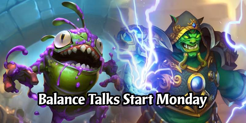 Hearthstone Devs Return to Work on Monday, Will Be Talking Balance Internally