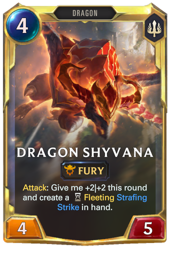 Dragon Shyvana Card Image