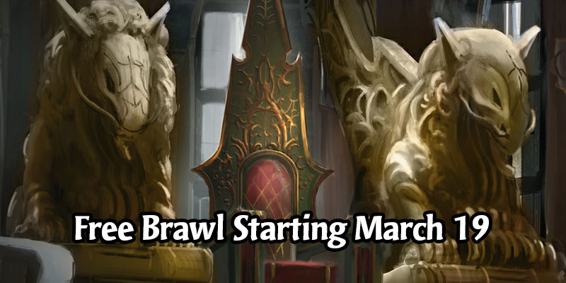 MTG Arena's Next Month-long Brawl Event Will be Free Due to Coronavirus and Social Distancing