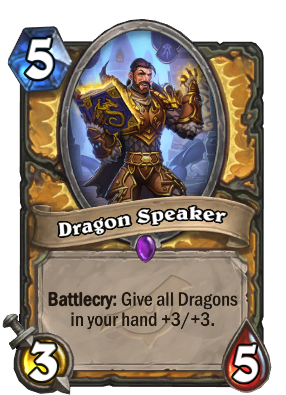 Dragon Speaker Card Image