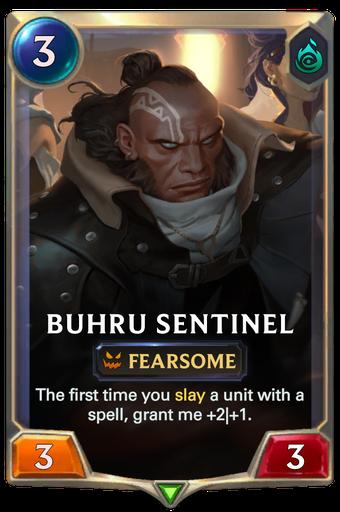 Buhru Sentinel Card Image