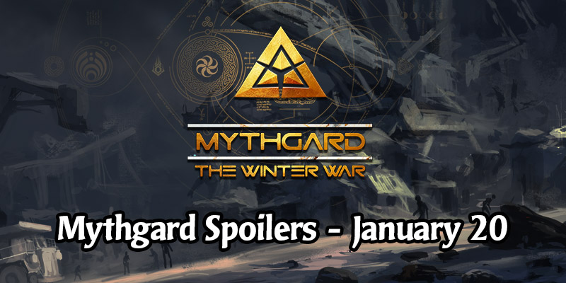 Daily Card Spoilers for Mythgard's The Winter War Set - January 20