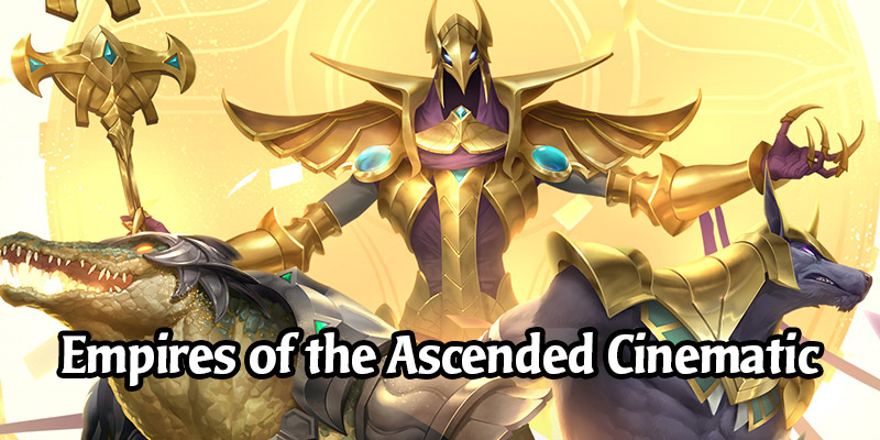 Watch the Legends of Runeterra Empires of the Ascended Cinematic - Card Reveals Daily!