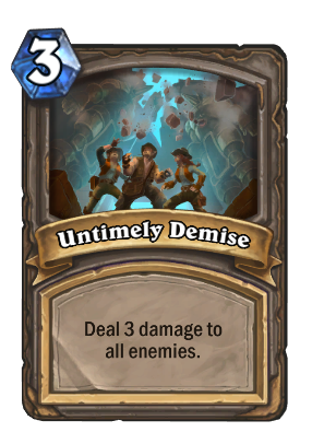 Untimely Demise Card Image