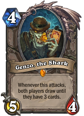 Genzo, the Shark Card Image