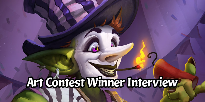 Interview with Sergey Tsvelykh, the Winner of 2020 Hearthstone Art Challenge