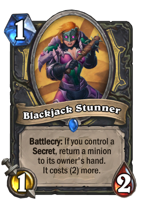 Blackjack Stunner Card Image