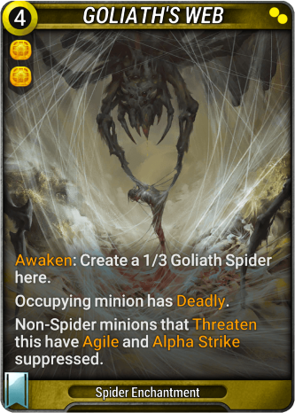 Goliath's Web Card Image