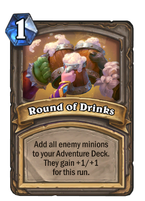 Round of Drinks Card Image