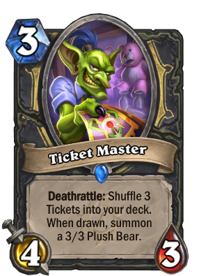 Ticket Master Card Image