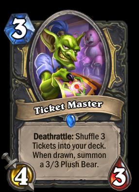 Ticket Master Card Image