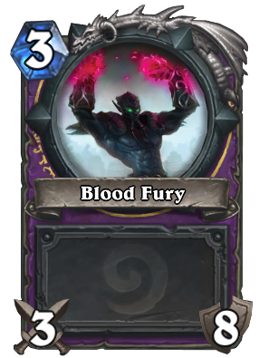 Blood Fury Card Image