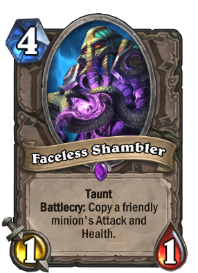 Faceless Shambler Card Image