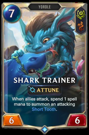 Shark Trainer Card Image