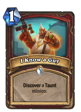 I Know a Guy Card Image