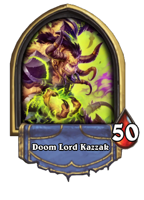 Doom Lord Kazzak Card Image