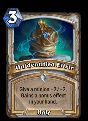 Unidentified Elixir Card Image