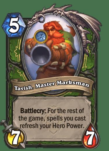 Tavish, Master Marksman Card Image