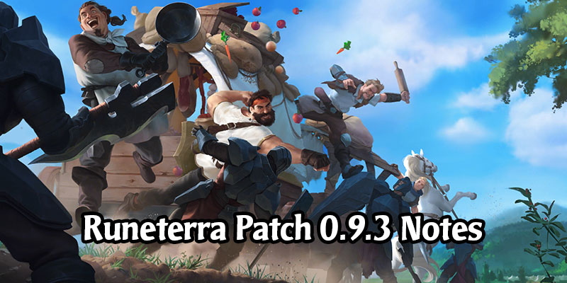 Legends of Runeterra Patch 0.9.3 Arrives this Tuesday - Vault Level Cap Removed, Expedition Reward Revamp, XP Changes