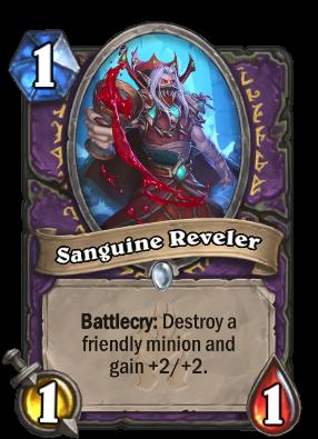 Sanguine Reveler Card Image