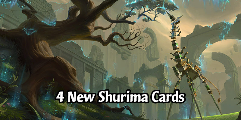 4 New Shurima Cards for Runeterra's Guardians of the Ancient Expansion Revealed!