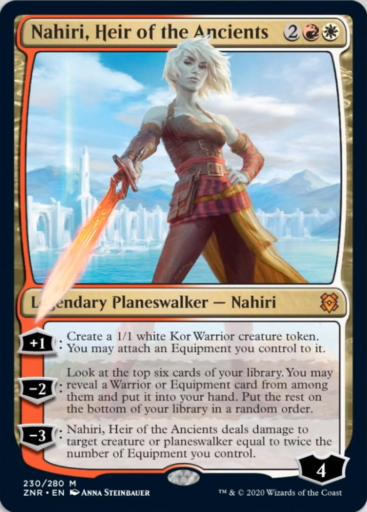 Nahiri, Heir of the Ancients Card Image