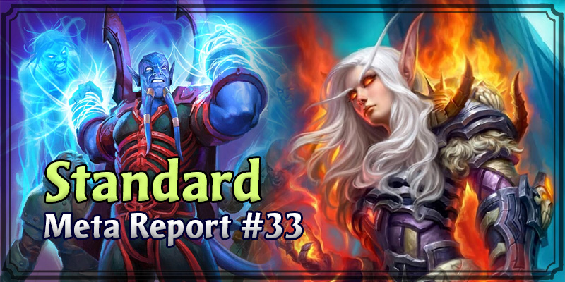 Standard Meta Report #33 - Top Hearthstone Decks May 3, 2020 - May 10, 2020
