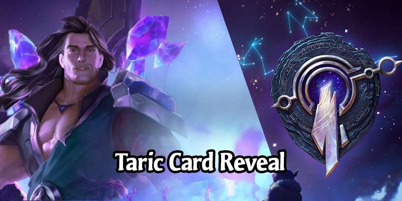 Taric is the Newest Legends of Runeterra Champion Coming in Call of the Mountain (7 New Cards!)