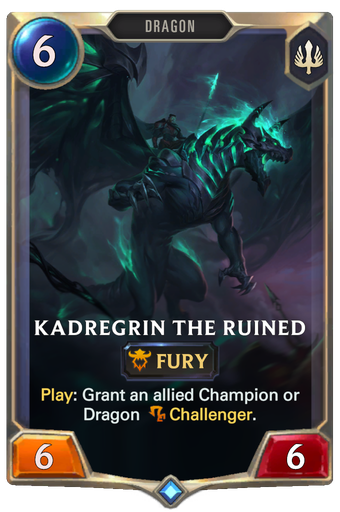 Kadregrin the Ruined Card Image