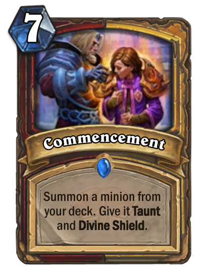 Commencement Card Image