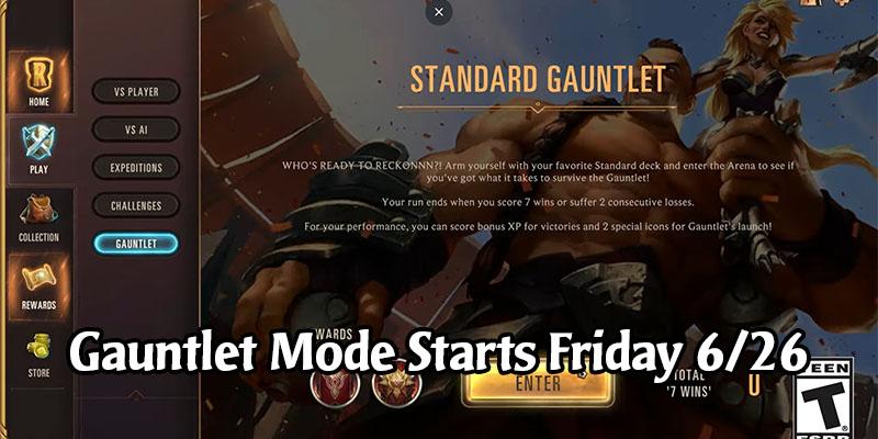 Runeterra Gauntlet Game Mode Starts This Friday