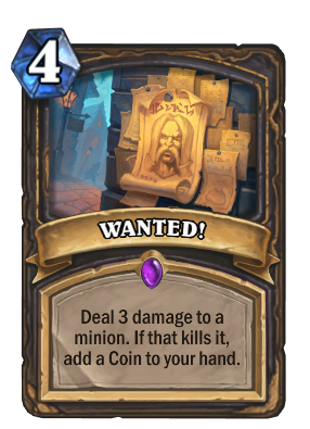 WANTED! Card Image
