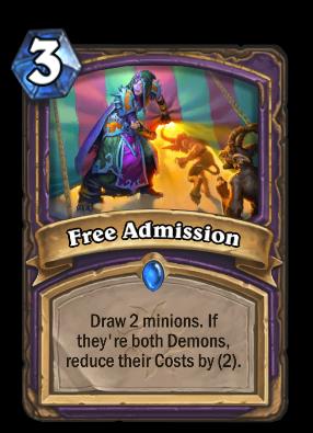 Free Admission Card Image