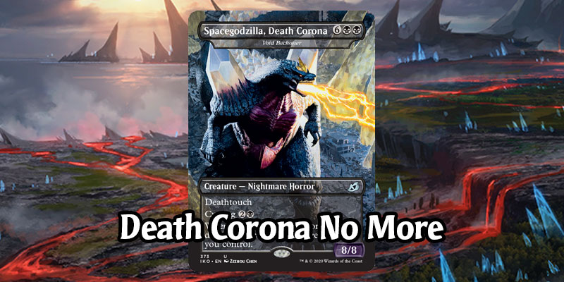 Spacegodzilla, Death Corona from Ikoria to be Renamed in Future Printings, Will Launch on Arena With New Name
