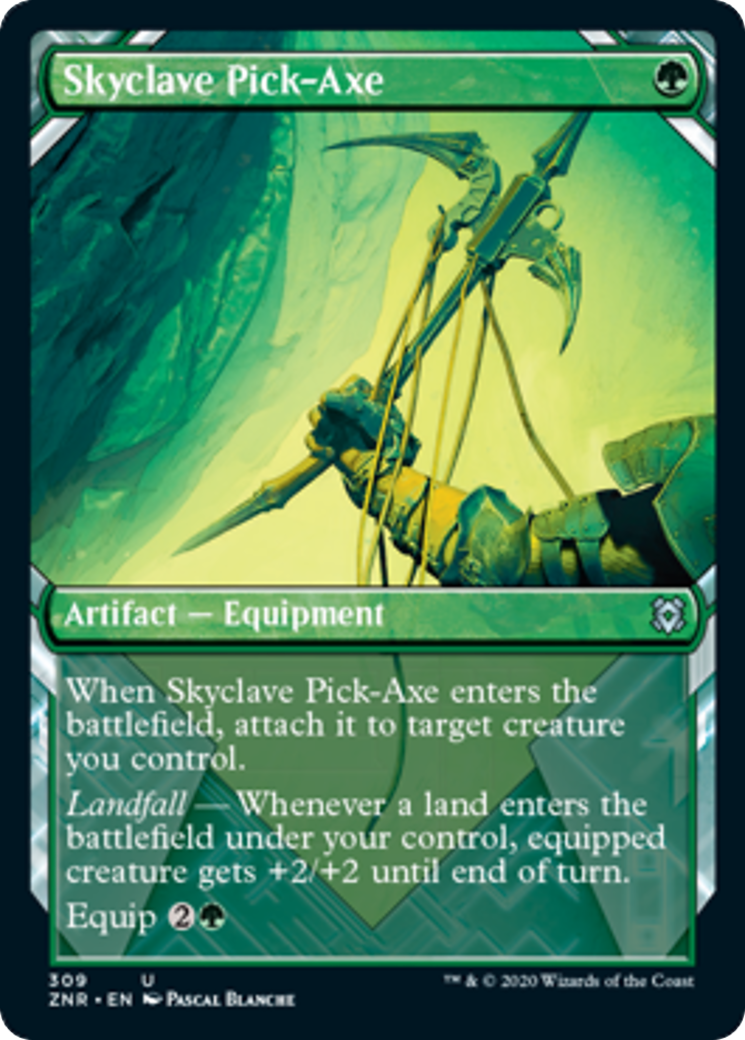 Skyclave Pick-Axe Card Image