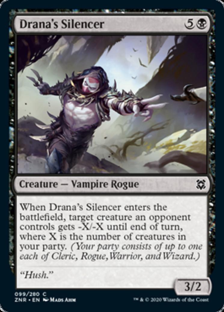 Drana's Silencer Card Image