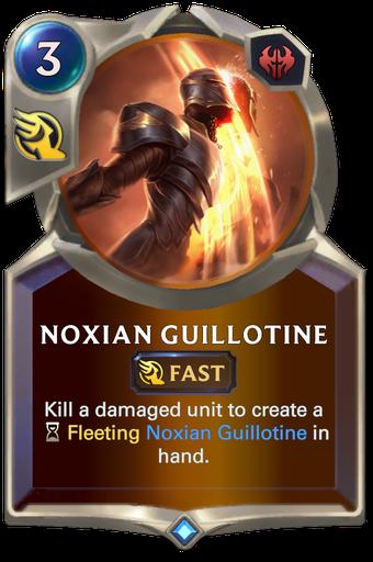 Noxian Guillotine Card Image