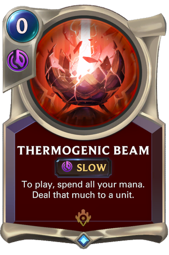 Thermogenic Beam Card Image