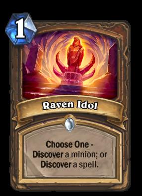 Raven Idol Card Image