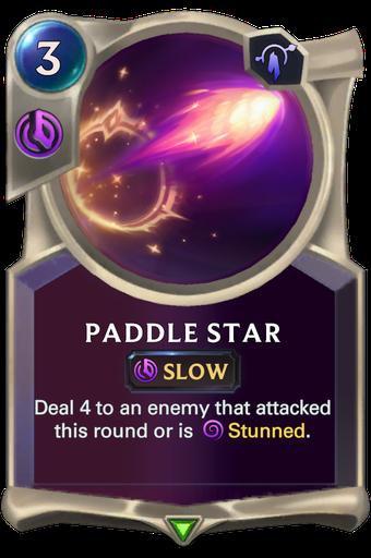 Paddle Star Card Image