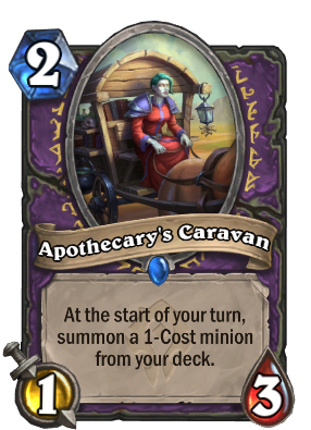 Apothecary's Caravan Card Image