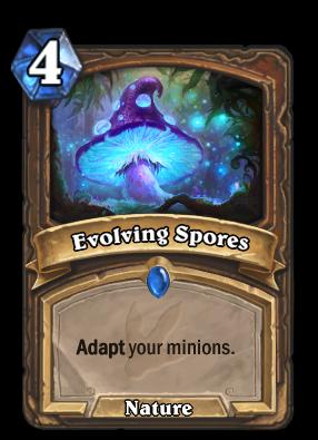 Evolving Spores Card Image