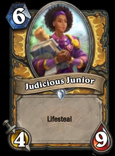 Judicious Junior Card Image