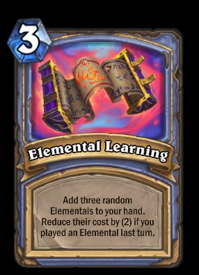 Elemental Learning Card Image