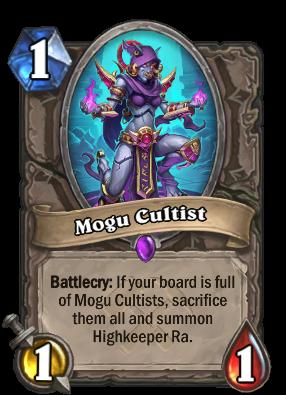Mogu Cultist Card Image