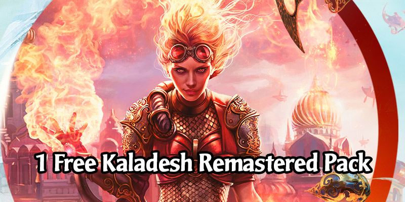 Want Free Magic Arena Card Packs? Get A Free Kaladesh Remastered Pack!