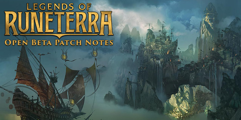 Legends of Runeterra - Beta Patch Card Buffs, Card Nerfs, Social Features, & More
